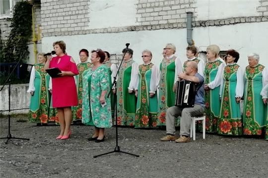 В микрорайоне «Верхний поселок» стартовали праздничные мероприятия в честь Дня города Шумерля