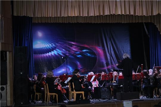концертная программа Чувашской Государственной академической симфонической капеллы,посвящённой Году памяти трудового подвига строителей Сурского и Казанского оборонительных рубежей.